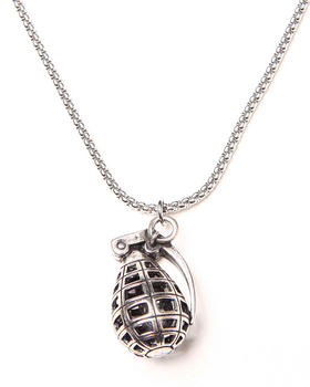 Uranium - Mars Grenade Necklace
