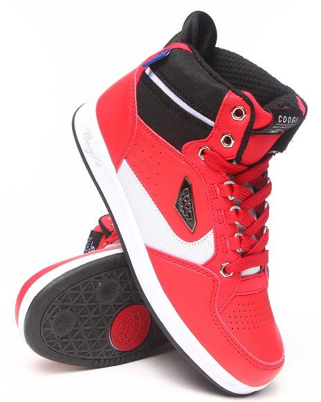 COOGI Boys Red Soros Sneaker (3.5-7)