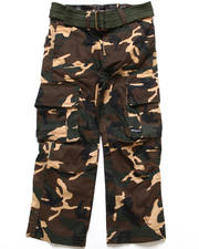 Bottoms - Camo Cargo Pants (4-7)