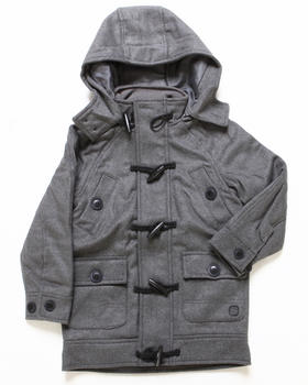 Arcade Styles - LATE NIGHTER TOGGLE JACKET (4-7)