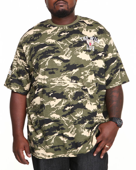 Ecko Camo The Wild Life T-Shirt (Big & Tall)