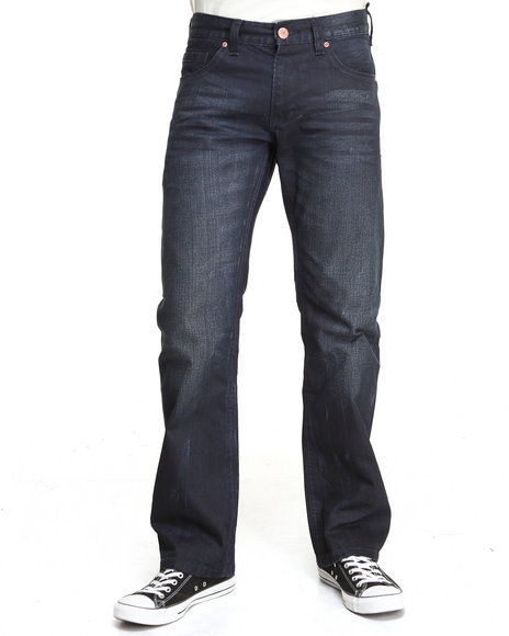 Syn Jeans - Men Dark Wash Slider Denim Jeans