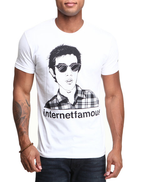 Enjoi - Men White Internet Famous Premium Tee