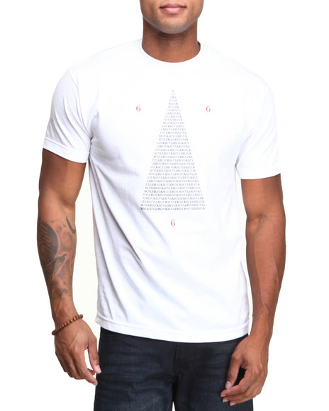 Blvck Scvle - Men White Triangular Perfecto Tee
