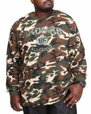 Akademiks - Bragg L/S Thermal Shirt (B&T)