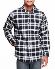 Men - Bellow Flannel Button-down