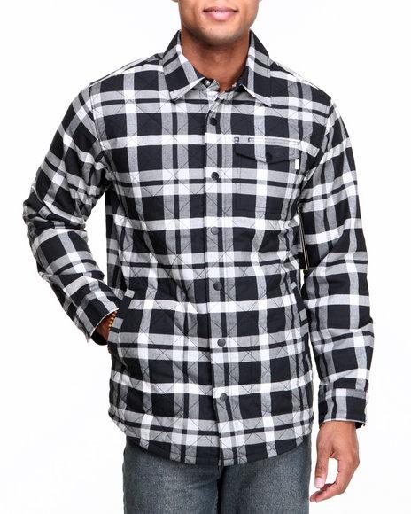 Burton - Men Black Bellow Flannel Button-Down