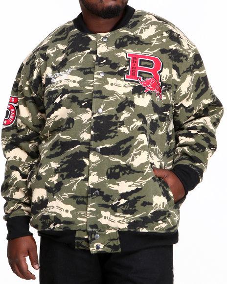 Ecko Camo Tracket Varsity Jacket (Big & Tall)