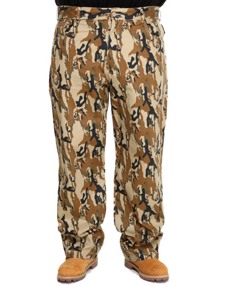 Ecko - Men Camo 5 Pocket Camo Denim Jeans (B&T)
