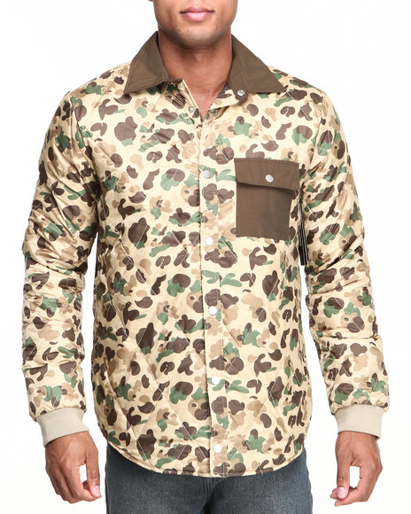 Camo Light Jackets