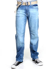 Jeans & Pants - Straight Fit Denim Jeans