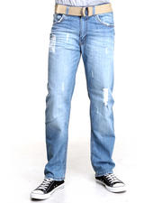Jeans & Pants - Straight Fit Denim Jeans