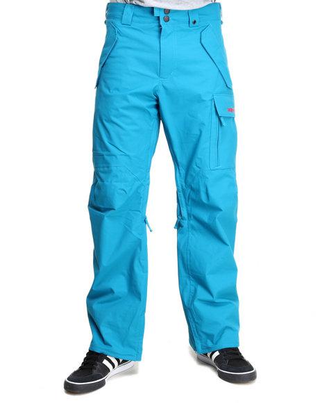 Burton - Men Blue Poacher Dryride Pants
