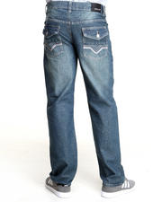 Basic Essentials - Flapback Pocket Denim Jeans