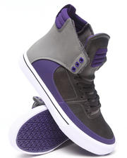 Supra - Kondor Dark Grey/Purple Leather Snekaers