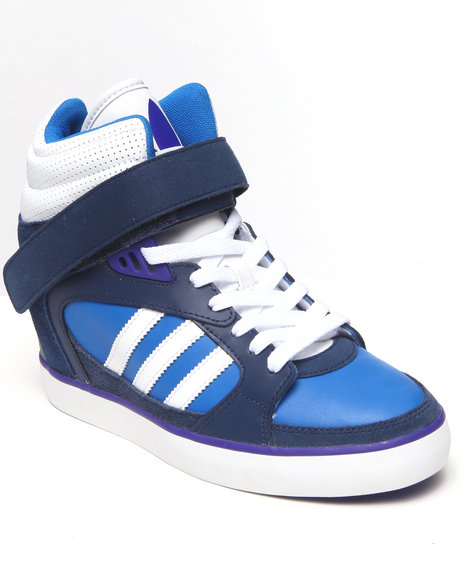Adidas - Women White Amberlight Up Womens Wedge Sneakers