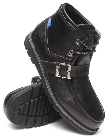 Coogi - Men Black Jeremy Ii Strap Boot