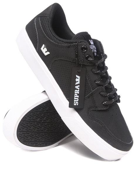Supra Black Vaider Lc Black Raptor Tuf Sneakers