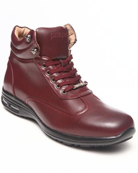 Pelle Pelle Maroon Comando Boot