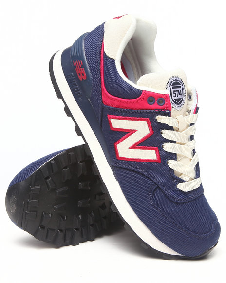New Balance Navy Rugby 574 Sneakers