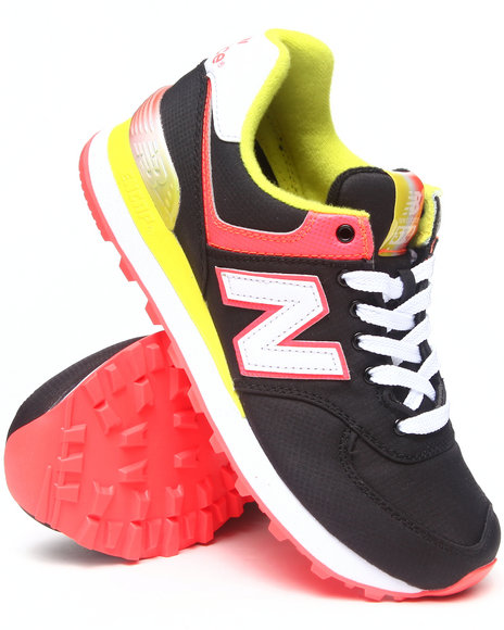 New Balance Black Rugby 574 Sneakers
