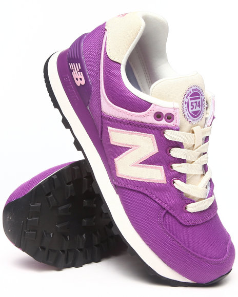 New Balance - Women Purple Rugby 574 Sneakers