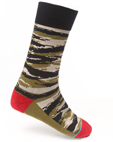 Stance Socks Camo Tiger Toe Socks