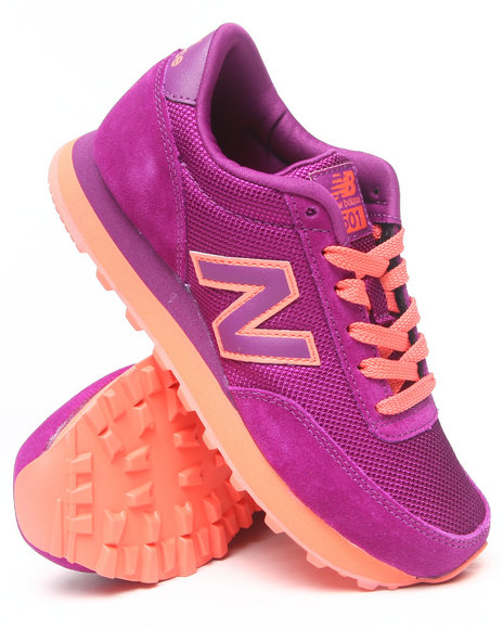 New Balance Purple 501 Sole Pack Sneakers