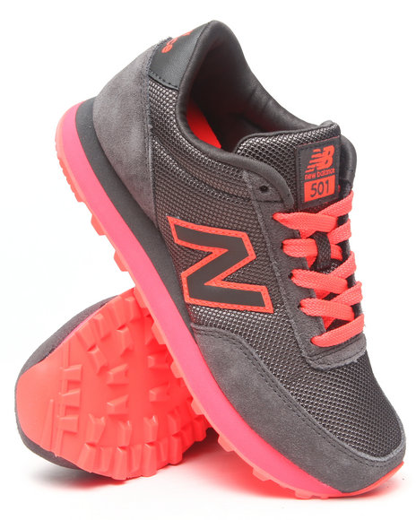 New Balance Grey 501 Sole Pack Sneakers