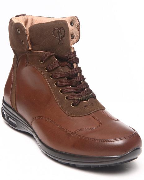 Pelle Pelle Brown Suede Detail Boot