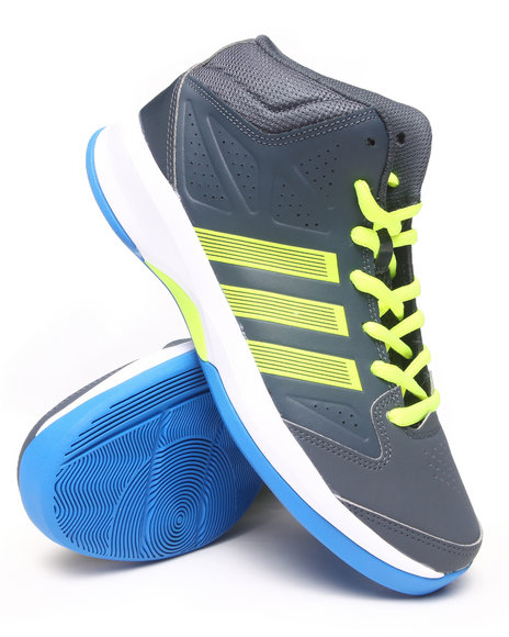 Adidas - Men Grey Isolation Mid Sneakers
