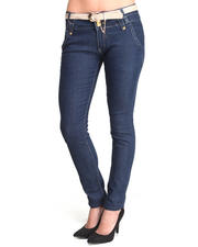 Fashion Lab - Charlie Skinny Jean w/belt