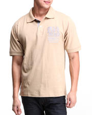 Men - Russel S/S Pique Polo Shirt