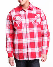 Men - Norris L/S Plaid Shirt
