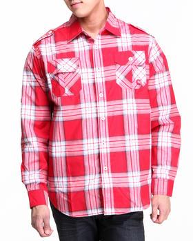Akademiks - Norris L/S Plaid Shirt
