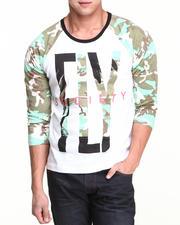 T-Shirts - Camo Paradise Raglan