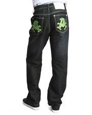Jeans & Pants - Olympian Neon Denim Jeans