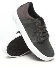 Supra - Westway Grey Suede/Canvas Sneakers (Youth)