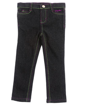 Baby Phat - EMBROIDERED POCKET JEANS (2T-4T)