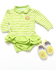 Akademiks - POLO CREEPER DRESS & SHOES (INFANT)