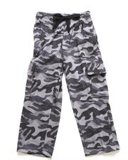 Boys - CAMO FLEECE CARGO PANTS (8-20)