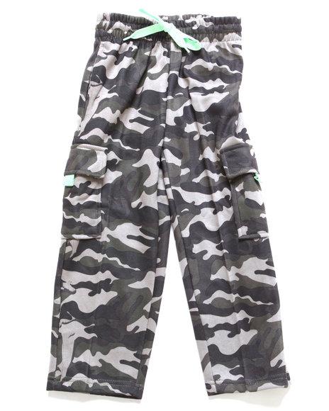 Arcade Styles Boys Camo,Olive Camo Fleece Cargo Pants (8-20)