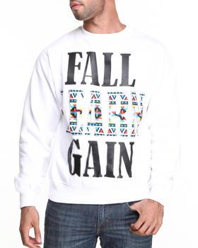 Ackers - Fast Learn Gain Crewneck Fleece Sweatshirt