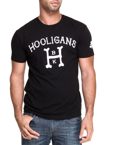 Starter Black Label - Men Black Brooklyn Hooligans Tee