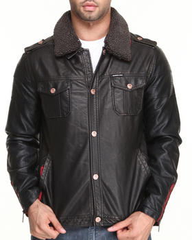 Members Only - Jean Moto Jacket