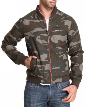 Members Only - Camo B'Ball Jacket