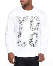 Men - YOLO Money Crewneck Fleece Sweatshirt