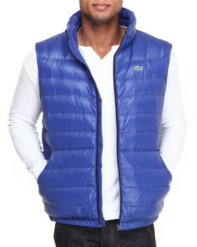 Lacoste - Featherweight Packable Down Vest