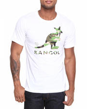 Men - Camo Kangol T-Shirt