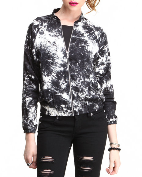 Motel - Women Black Bomber Jacket